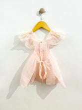 Load image into Gallery viewer, sheer apron dress / 12m