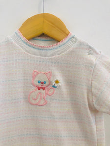 knit kitty top / 12-24m