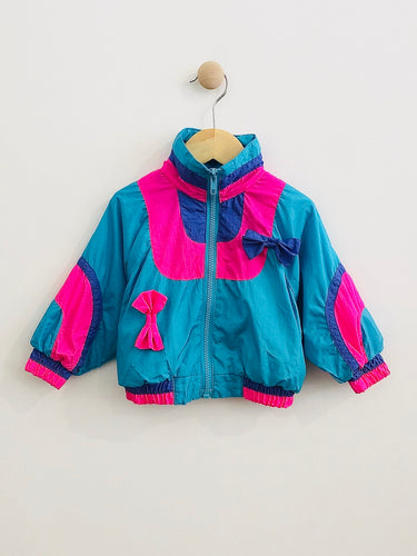 color block jacket  / 2T