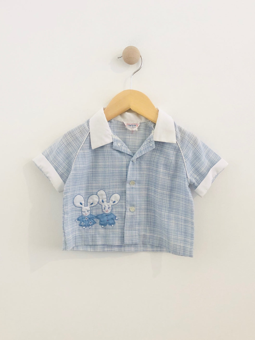 mouse patch shirt / fits 6m