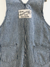 Load image into Gallery viewer, striped overalls / 3-6m