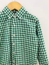 Load image into Gallery viewer, gingham button up / 2T