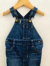 Load image into Gallery viewer, denim overalls / 6-12m
