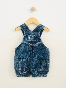 denim shortalls / 6m