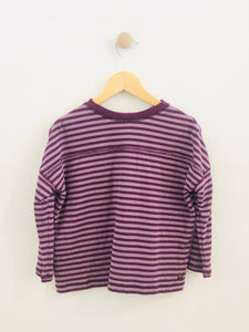 striped kitty tee / 5Y