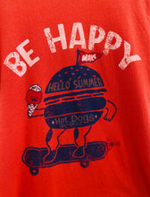 "Load image into Gallery viewer, ""be happy"" tee / 6Y"