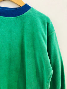 velour sweatshirt / 8y