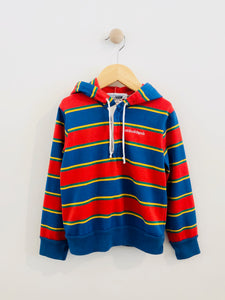 polo hoodie / 6y
