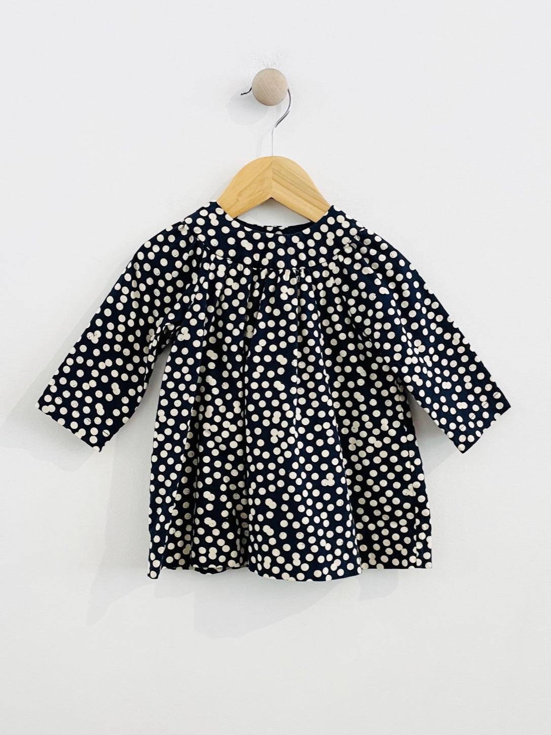 polka dot dress / 9m