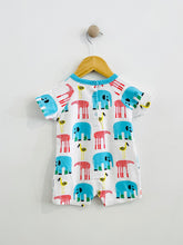 Load image into Gallery viewer, printed short onesie / 9m