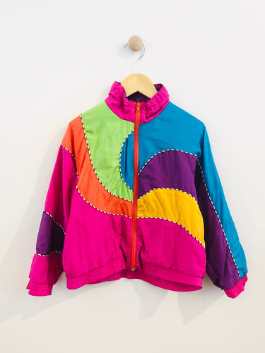 colorblock windbreaker / 5y