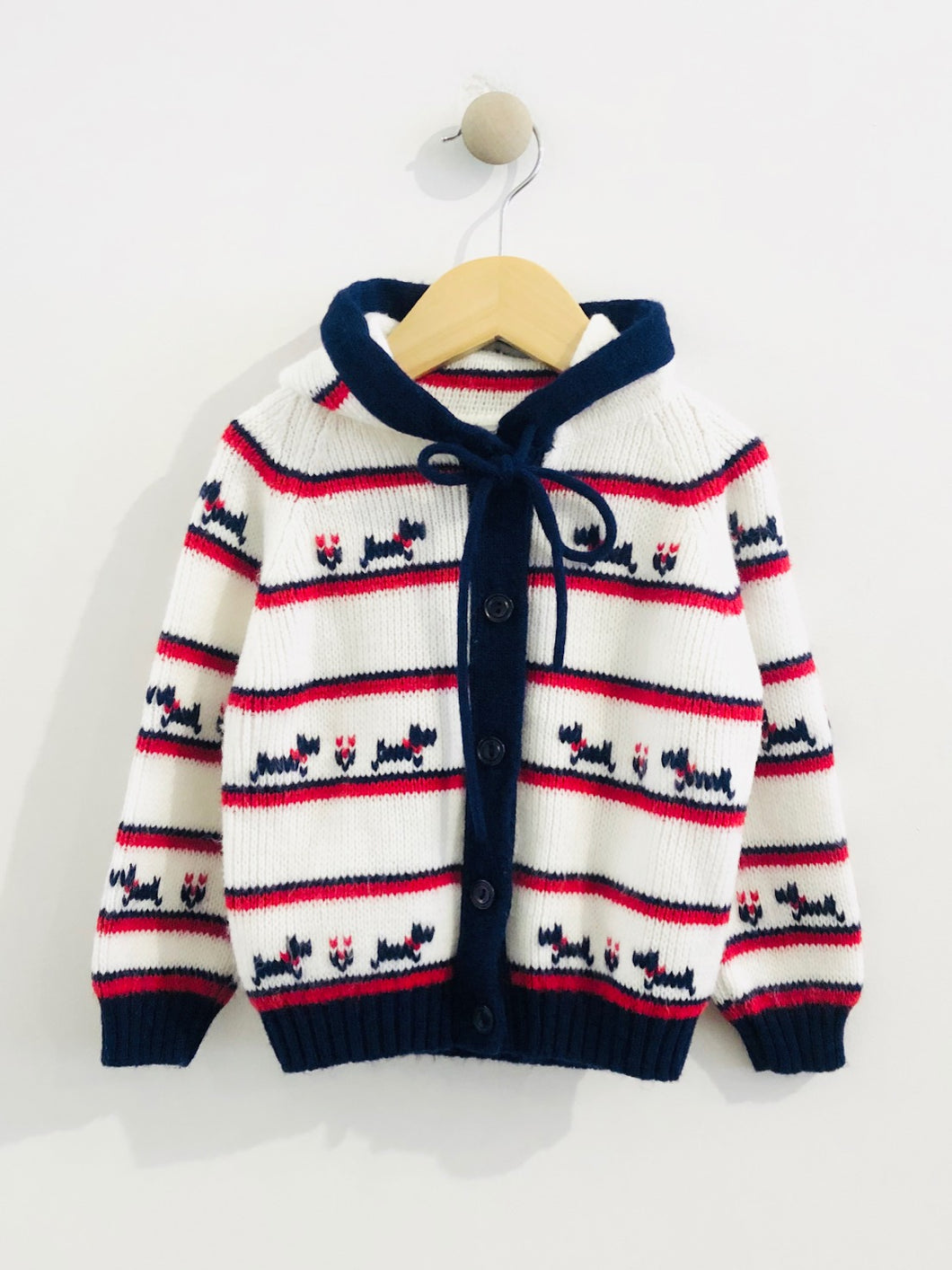 hooded cardigan / 3-5Y