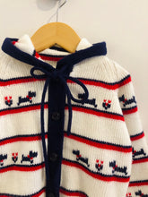 Load image into Gallery viewer, hooded cardigan / 3-5Y