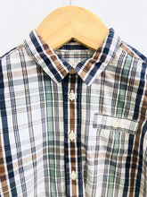 Load image into Gallery viewer, plaid shirt / 18m
