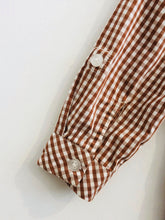 Load image into Gallery viewer, gingham shirt / 12m