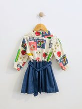 "Load image into Gallery viewer, ""school days"" dress / fits 2-3T"