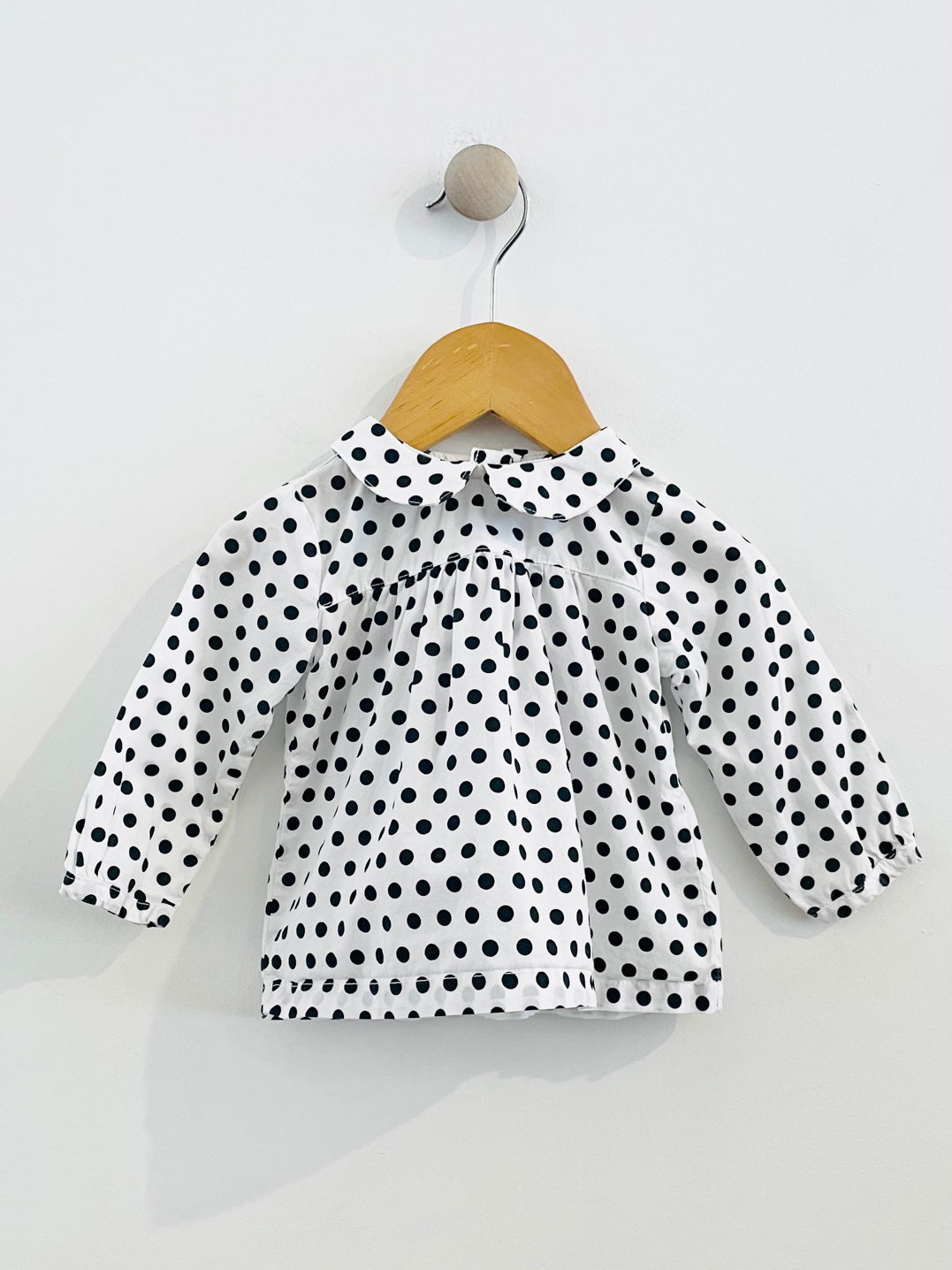 peter pan blouse / 6m