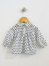 Load image into Gallery viewer, peter pan blouse / 6m