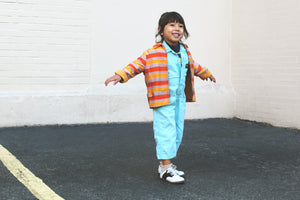 striped jacket  / 3T