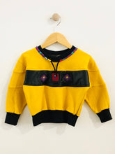 Load image into Gallery viewer, patch sweatshirt / 2T