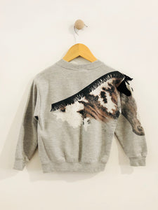 """giddy up"" sweatshirt / 4T"