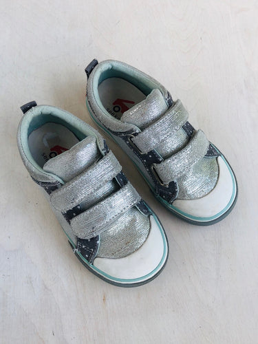 metallic sneakers / US 10.5
