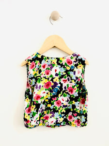floral tank / 3T