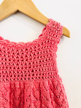 Load image into Gallery viewer, crochet dress / 12m