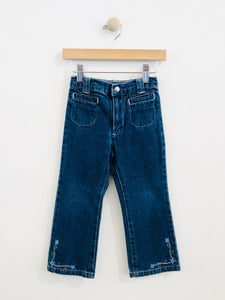 embroidered jean / 3T