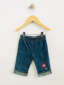 embroidered jean / 3m