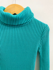 ribbed turtleneck / 5-7Y