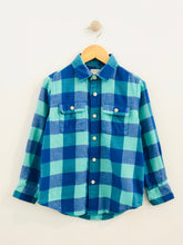 Load image into Gallery viewer, plaid flannel / 6-7Y