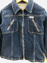 Load image into Gallery viewer, vintage zip up denim jacket / 8Y