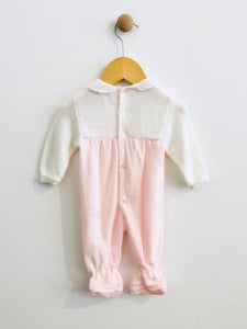 """love"" knit onesie / 0-6m"