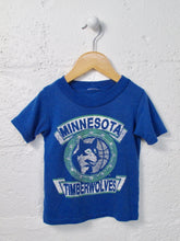 Load image into Gallery viewer, VINTAGE timberwolves tee / 2T