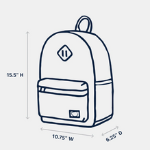 Load image into Gallery viewer, bayside backpack - alpha