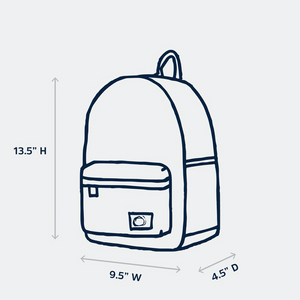 edison backpack - milky way