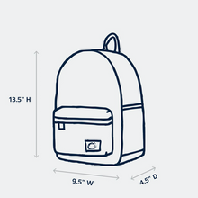 Load image into Gallery viewer, edison backpack - mermaids