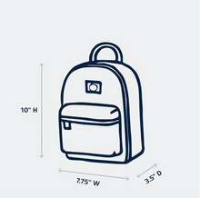 Load image into Gallery viewer, goldie backpack - rainbows