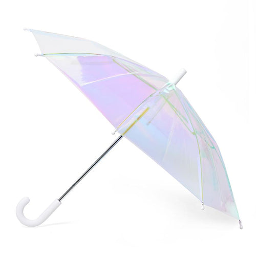 holographic umbrella / white