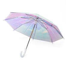 Load image into Gallery viewer, holographic umbrella / white