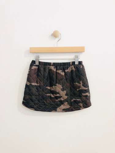 crewcuts quilted skirt / 3T
