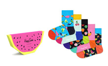 Load image into Gallery viewer, fruit socks 5pk gift set