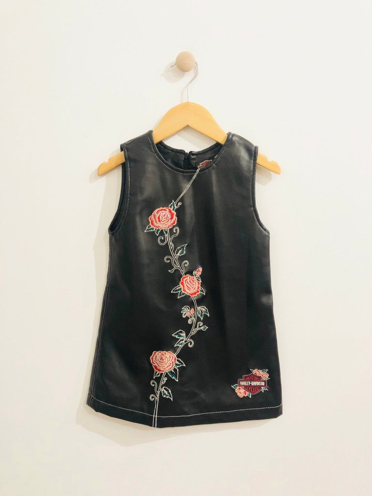 embroidered dress / 6Y