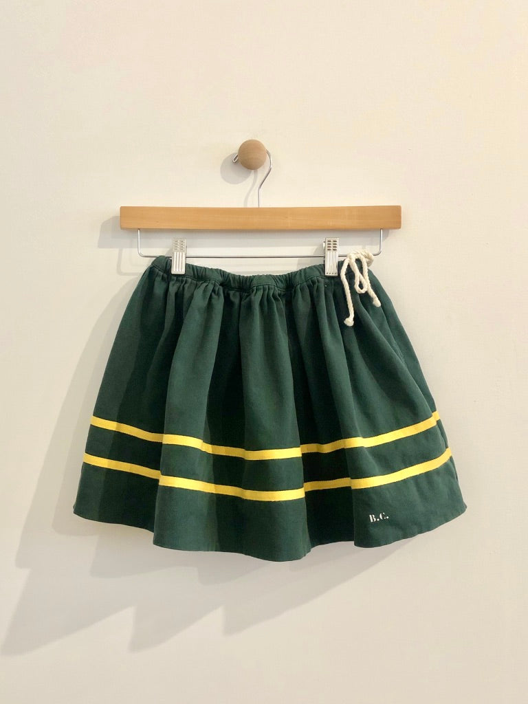 gathered circle skirt/ 6-7Y