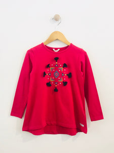 embellished tunic top / 6Y
