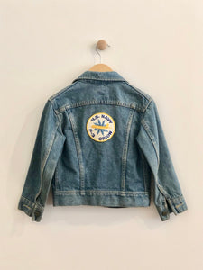 VINTAGE lee denim jacket / 8-10Y