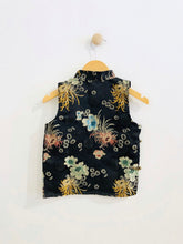 Load image into Gallery viewer, mandarin collar top / 6Y