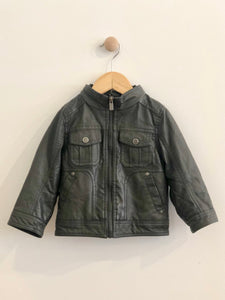 urban republic faux leather jacket / 24m