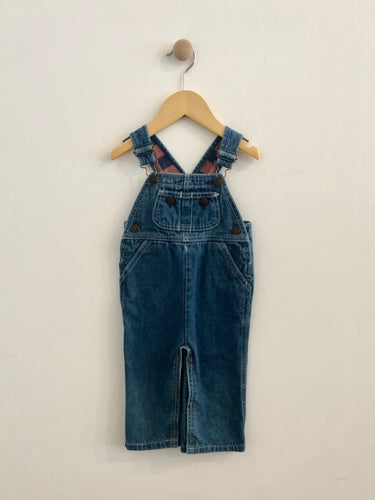 VINTAGE french toast overalls / 18m